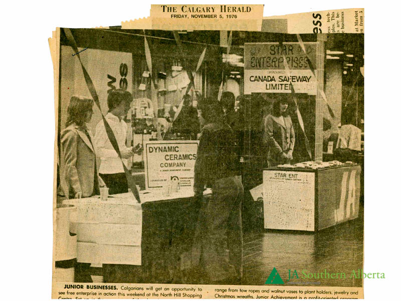 Junior-achievement-Company-Program-calgary-herald-1976