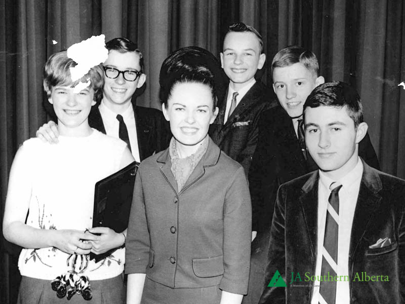 Junior-achievement-students-1960-calgary