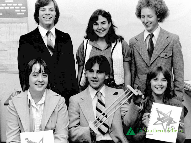 Junior-achievement-students-1979-calgary